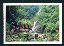 TAIWAN  -  Chiaochi Waterfall  Unused Postcard - Taiwan