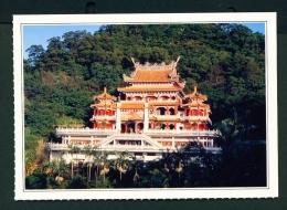 TAIWAN  -  Mucha  Hsienkung Temple  Unused Postcard - Taiwan