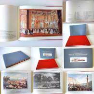 ARCHITECTURE ART PAINTINGS Trieste ITALY 1984 ALBUM  RARITY UNIQUE LARGE SIZE - Books, Magazines, Comics