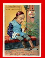 Paris, Maison De La Belle Jardinière, Belle Chromo Lith. Sicard, L'Opium Du Fils Du Ciel - Chromos