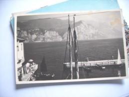 Harbour Rocks Boats Unknown Where - Postkaarten