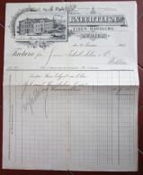 FATTURA KNECHTLI EISEN HANDLUNG ZURICH WOHLEN ANNO 1901 SVIZZERA - Svizzera