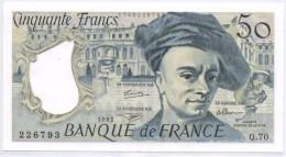 50 FRANCS Quentin De La Tour Type 1976 - 1992 - NEUF - 1962-1997 ''Francs''