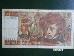 Berlioz 10 Francs - 1974 - 10 F 1972-1978 ''Berlioz''