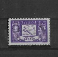 Monaco N°18** - Airmail