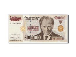 Turquie, 5,000,000 Lira, 1997, KM:210, Undated, NEUF - Turquie