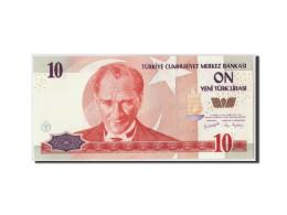 Turquie, 10 New Lira, 2005, KM:218, Undated, NEUF - Turquie