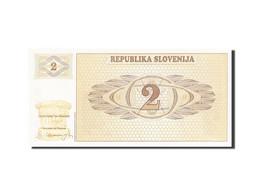 Slovénie, 2 (Tolarjev), 1990-1992, 1990, KM:2a, NEUF - Slovénie