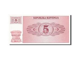 Slovénie, 5 (Tolarjev), 1990-1992, 1990, KM:3a, NEUF - Slovénie