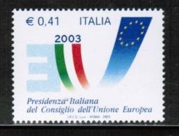 EUROPEAN IDEAS 2003 IT MI 2916 ITALY - European Ideas