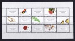 New Zealand 2007 Personalised Stamps Sheetlet MNH - - - Ongebruikt