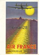AIR FRANCE - MENUS PARIS MANILLE - PARCOURS PARIS BOMBAY - Menú