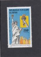 BENIN 1986 STATUE OF LIBERTY 100 Th ANNIVERSARY STAMP MNH - Bénin – Dahomey (1960-...)