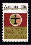 Australia 1973 National Development 35c Mapping Used - 1966-79 Elizabeth II