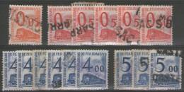 Timbres Pour Petits Colis N°31+36x5+44x6+45x3 Oblitérés     - Cote 42,50€ -