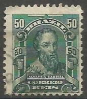 Brazil - 1913 Cabra 50r Used  Sc 176a - Used Stamps
