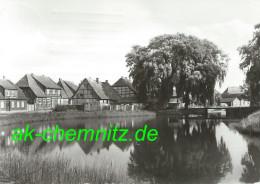 Mecklenburg Foto AK 19230 Hagenow 1980  Am Mühlenteich - Hagenow