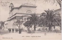 """06 ALPES MARITIMES NICES  """" église Du Voeu """" Précurseur Giletta N° 100 - Cafés, Hôtels, Restaurants"""