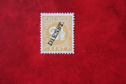 Read Dienst 2 1/2 Ct NVPH D8 1911 Ongebruikt / MH NEDERLAND INDIE / DUTCH INDIES - Indes Néerlandaises