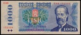 Czechoslovakia 1000 Korun 1985 VF - Czechoslovakia
