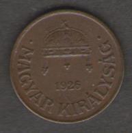 UNGHERIA FILLER 1926 - Ungheria