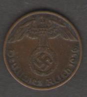 GERMANIA 1 REICHSPFENNIG 1936 - [ 4] 1933-1945 : Troisième Reich