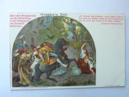 Gessler´s Tod - Serie Vierwaldstättersee - Guillaume Tell - La Mort De Gessler - Contes, Fables & Légendes