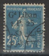 Grand Liban - YT 27 Oblitéré - Great Lebanon (1924-1945)