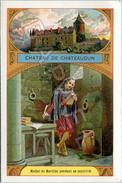 Image - Château De Chateaudun - Michel De Marillac Pendant Sa Captivité (Recto-Verso) - Chromos