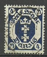 Danzig, Nr. 123Y, Gestempelt - Danzig