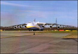 Antonov 225 International Cargo Transporter AN 225 Mrya Aircraft  Airlines AN-225 Avion Air Aviation AN.225 Airplane - 1946-....: Moderne