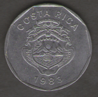 COSTA RICA 20 COLONES 1983 - Costa Rica