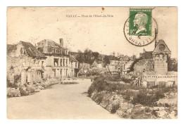 02 - MILITARIA VAILLY PLACE DE L'HOTEL DE VILLE - ÉDITION NOUGAREDE - 25/3/1924 - 2 SCANS - Altri Comuni