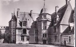 Carte 1955 CHATEAU D´AINAY LE VIEIL / Façade Sur La Cour - Ainay-le-Vieil