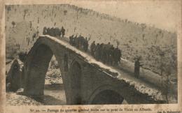 98151 - Albanie     Passage Du Quartier Serbe Sur Le Pont De Vizirs - Albanie
