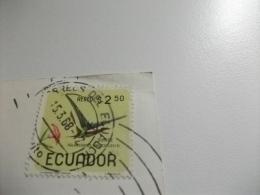 STORIA POSTALE FRANCOBOLLO COMMEMORATIVO ECUADOR REY DE LOS ANDES EL CHIMBORAZO - Ecuador