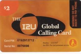 United States, $2, The I2U Global Calling Card 2 Scans. - Sonstige