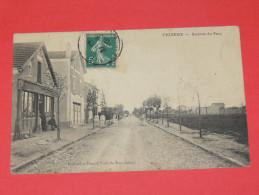 VIGNEUX SUR SEINE/ ARDT EVRY  1910   AVENUE DU PARC AVEC COMMERCE   CIRC OUI EDIT - Vigneux Sur Seine
