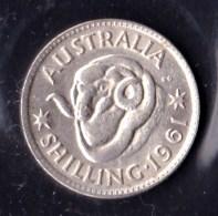 Australia 1961 Shilling Lustrous EF - Shilling