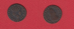 2 Deniers De Strasbourg 1708 BB --  état  TB - 987-1789 Monnaies Royales