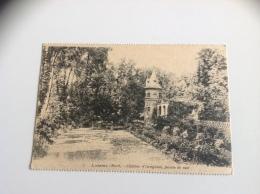 23  - LOMME Chateau D'Isenghien, Facade De Coté - 1916 Tampon 24. Infanterie - Division - Lomme