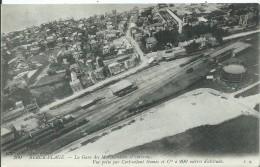 BERCK PLAGE - La Gare Des Marchandises Et Environs Vue Prise Du Cerf-volant Gomès à 200 Mètre D'altitude - Berck