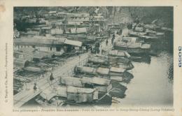 VN LONG TCHEOU / Frontière Sino-Annamite, Pont De Bateaux Sur Le Song-Bang-Giang / - Vietnam