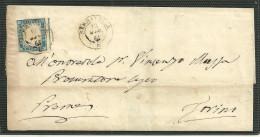 DA SERRAVALLE A TORINO - 12.5.1861. - Sardegna