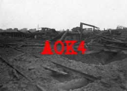 Comines Warneton Komen Waasten Flandern Ypern Gare Bahnhof Station NMBS SNCB Chemins De Fer 1917 - Guerra, Militari