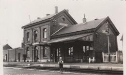 LINCENT,la Gare  ;intérieur ;rare En Mosa - Lincent