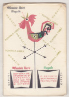 Romanian Small Calendar - 1968 - Romania Libere Magazine - Petit Format : 1961-70