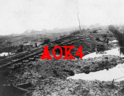 Comines Warneton Komen Waasten Armentieres Flandern Ypern Gare Bahnhof Station NMBS SNCB Chemins De Fer 1917 - Guerre, Militaire
