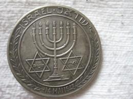 Israel Médaille De L'indépendance 14 Mai 1948 - Non Classés
