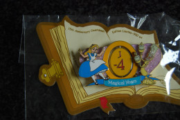 DLRP - Countdown To 15th Anniversary J-4 (Alice And Lumiere) Spinner  Limited Edition 900 Ex. - Disney